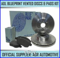BLUEPRINT FRONT DISCS AND PADS 348mm FOR BMW X5 3.0 TWIN TD (E70)(35D) 2007-10