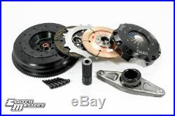Clutch Masters Twin-Disc Clutch Kit with Aluminum Flywheel for 11-15 BMW 335i N55