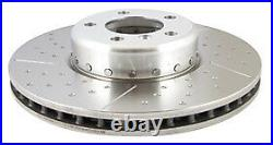 EBC 2 Piece Turbo Grooved Front Discs BMW 4 Series F33 Cabrio 435 3.0 Twin TD