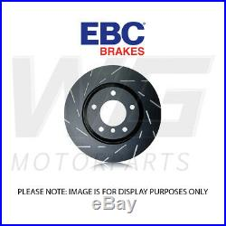 EBC 348mm Ultimax Grooved Front Discs for BMW 7 Series F01 730 3.0 Twin TD 08-10
