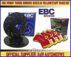 EBC FRONT GD DISCS YELLOWSTUFF PADS 348mm FOR BMW 335 3.0 TWIN TURBO E90 2010-12