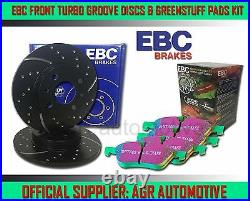 EBC FR GD DISCS GREEN PADS 348mm FOR BMW 335X 4WD 3.0 TWIN TURBO E90 2007-08