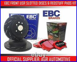 EBC FR USR DISCS RED PADS 348mm FOR BMW 335 XDRIVE 3.0 TWIN TURBO E92 2010-13