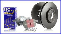EBC Front Discs & Ultimax Pads BMW X1 E84 2.0 Twin TD 23d 204 HP 2009 10