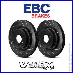 EBC GD Front Brake Discs 348mm for BMW X6 3.0 Twin TD (40d) 2010-2014 GD1521