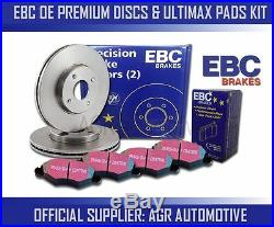 EBC REAR DISCS AND PADS 370mm FOR BMW 750 XDRIVE 4.4 TWIN TURBO (F02) 2010