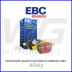 EBC YellowStuff Front Pads for BMW 4 Series (F32) Coupe 435 (3.0 Twin TD) 2013