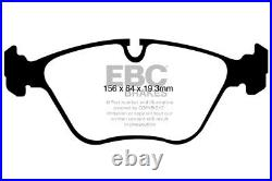 EBC Yellowstuff Front Brake Pads for BMW X6 (E71) 3.0 Twin TD (35d) (2008 10)