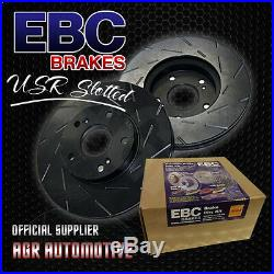 Ebc Usr Slotted Front Discs Usr1512 For Bmw 335 3.0 Twin Turbo 2006-13