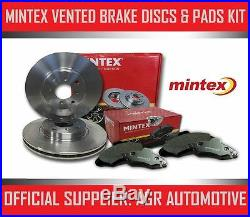 MINTEX FRONT DISCS AND PADS 312mm FOR BMW X1 2.0 TWIN TD (25D) 215 BHP 2012