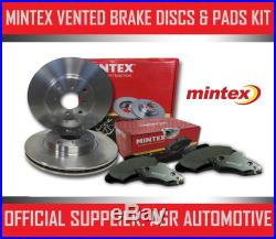 MINTEX REAR DISCS AND PADS 336mm FOR BMW 335 3.0 TWIN TURBO (E93) 2010-13