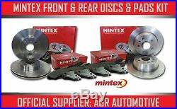 Mintex Front + Rear Discs And Pads For Bmw X3 3.0 Twin Td (35d)(e83) 2006-10