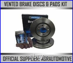 OEM SPEC FRONT DISCS AND PADS 332mm FOR BMW X5 2.0 TWIN TD (F15)(25D) 2013