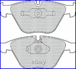 Oem Spec Front + Rear Discs And Pads For Bmw 335 3.0 Twin Turbo (e91) 2006-10